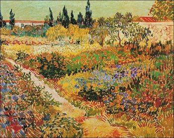 Reprodução do quadro  Van Gogh - Giardino Fiorito