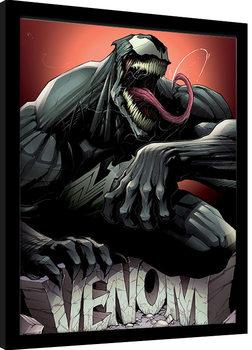 Venom - Rock Poster Emoldurado