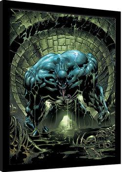 Venom - Sewer Dweller Poster Emoldurado