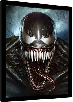 Venom - Sinister Smile Poster Emoldurado