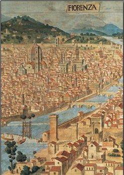 Reprodução do quadro  View of Florence