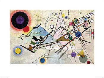 Reprodução do quadro Wassily Kandinsky - Composition VIII