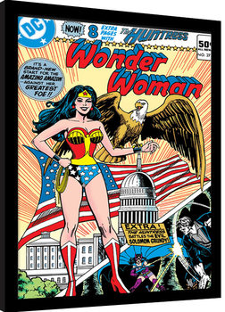 Wonder Woman - Eagle Poster Emoldurado