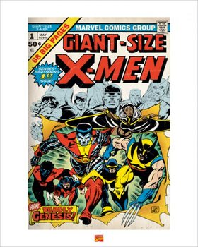 Reprodução do quadro X-Men