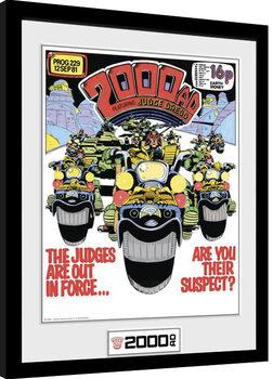 Poster Emoldurado 2000 AD - Out in Force