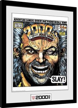 Poster Emoldurado 2000 AD - Slay