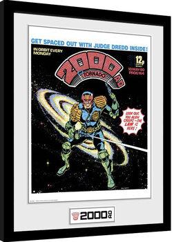 Poster Emoldurado 2000 AD - Tornado