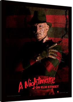 Poster Emoldurado A Nightmare On Elm Street - Freddy Krueger