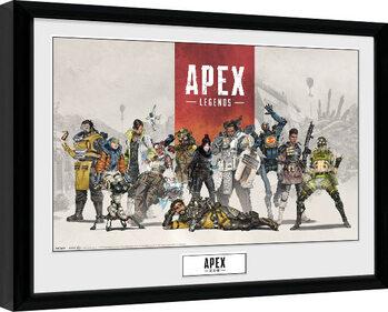 Poster Emoldurado Apex Legends - Group