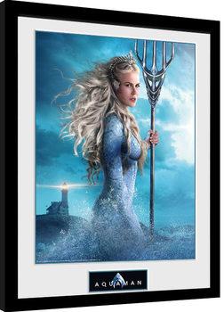 Poster Emoldurado Aquaman - Atlanna
