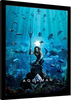 Poster Emoldurado Aquaman - Teaser