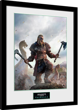 Poster Emoldurado Assassin's Creed: Valhalla - Gold Edition