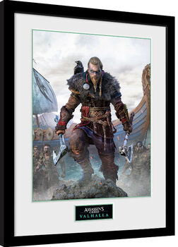Poster Emoldurado Assassin's Creed: Valhalla - Standard Edition