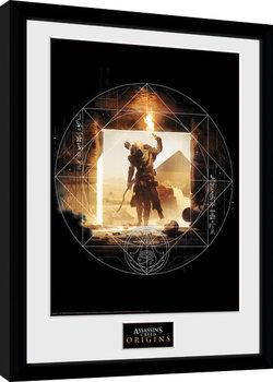 Poster Emoldurado Assassins Creed: Origins - Wanderer