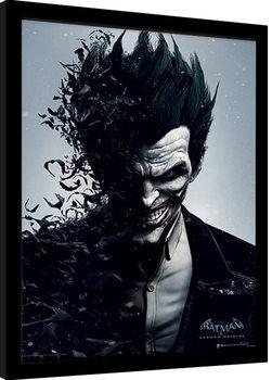 Poster Emoldurado Batman: Arkham Origins - Joker