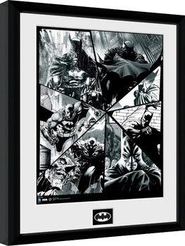 Poster Emoldurado Batman Comic - Collage