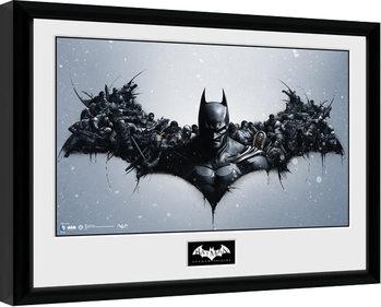Poster Emoldurado Batman Comic - Origins