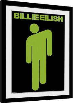 Poster Emoldurado Billie Eilish - Stickman