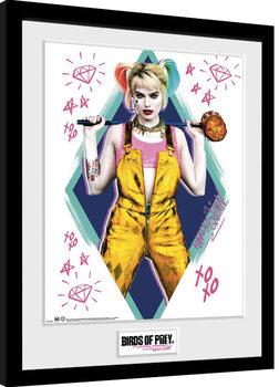 Poster Emoldurado Birds Of Prey: And the Fantabulous Emancipation Of One Harley Quinn - Harley Quinn