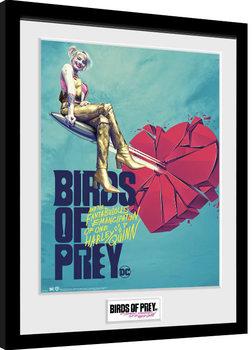 Poster Emoldurado Birds Of Prey: And the Fantabulous Emancipation Of One Harley Quinn - One Sheet Bullet