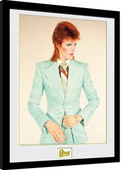 Poster Emoldurado David Bowie - Life On Mars