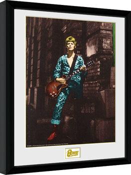 Poster Emoldurado David Bowie - Street