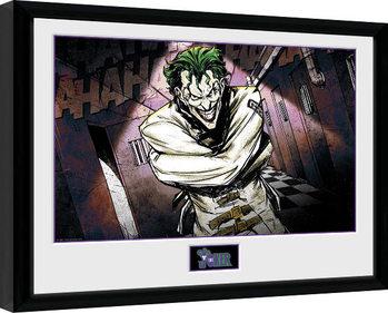 Poster Emoldurado DC Comics - Asylum