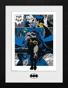 Poster Emoldurado DC Comics - Batman Panels
