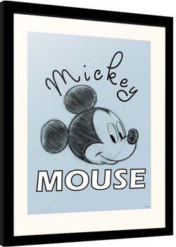 Poster Emoldurado Disney - Mickey Mouse