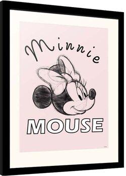 Poster Emoldurado Disney - Minnie Mouse