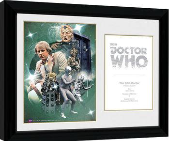 Poster Emoldurado Doctor Who - 5th Doctor Peter Davison