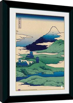 Poster Emoldurado Doctor Who - Japan