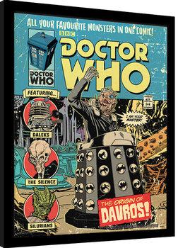 Poster Emoldurado Doctor Who - The Origin of Davros