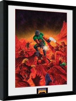 Poster Emoldurado Doom - Classic Key Art