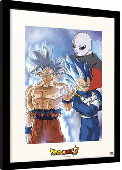 Poster Emoldurado Dragon Ball - Super Jiren
