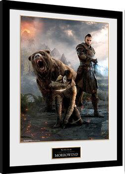 Poster Emoldurado Elder Scrolls Online: Morrowind - Trio