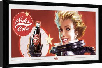 Poster Emoldurado Fallout - Nuka Ad