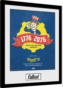 Poster Emoldurado Fallout - Tricentennial