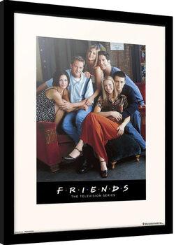 Poster Emoldurado Friends - Characters