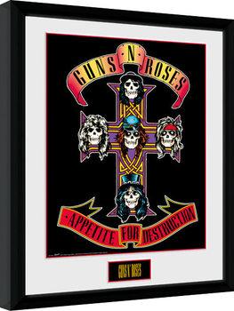 Poster Emoldurado Guns N Roses - Appetite