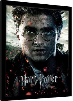 Poster Emoldurado Harry Potter: Deathly Hallows Part 2 - Harry