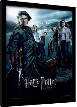Poster Emoldurado Harry Potter - Goblet Of Fire