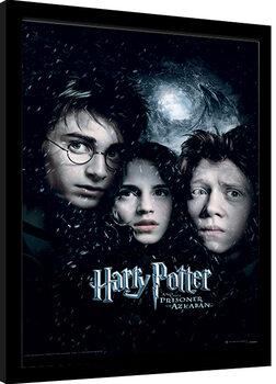 Poster Emoldurado Harry Potter - Prisoner Of Azkaban