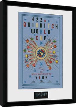 Poster Emoldurado Harry Potter - Quidditch World Cup 2