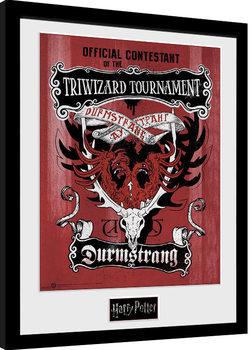Poster Emoldurado Harry Potter - Triwizard