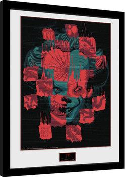 Poster Emoldurado IT: Chapter 2 - Faces