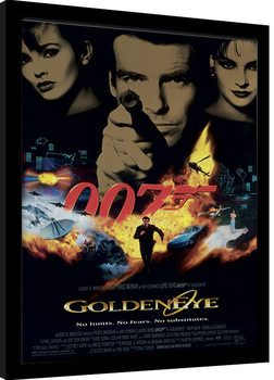 Poster Emoldurado JAMES BOND 007 - Goldeneye