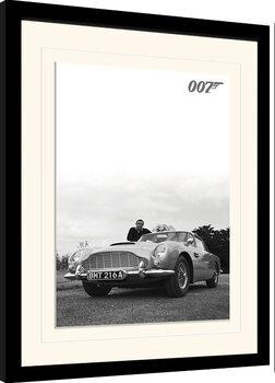 Poster Emoldurado James Bond - Connery B+W