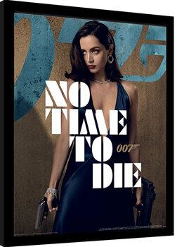 Poster Emoldurado James Bond: No Time To Die - Paloma Stance