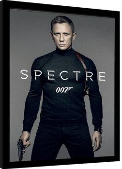 Poster Emoldurado James Bond: Spectre - Colour Teaser